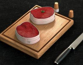 Tournedos - Roast Beef 3D asset