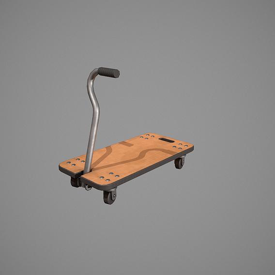 Wooden Transport Trolley