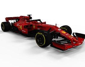 3D asset Ferrari F1 2019 SF90