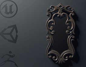 Mirror 3D model rigged