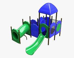 3D model Kids playground outdoor 05