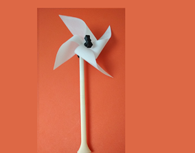 Printable Windmill Spinner Toy for Kids
