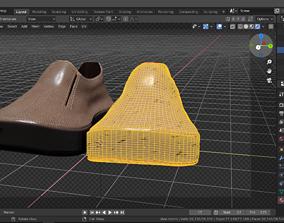 3D Shoe model 2