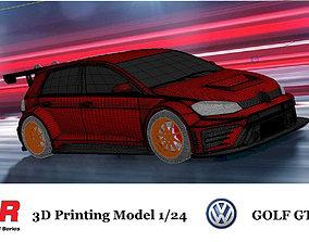3D print model VW Golf Gti TCR kits