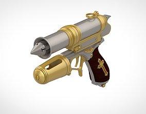 3D print model Grappling gun from the movie Van Helsing
