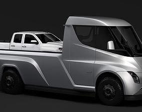 3D Tesla Pickup 2020