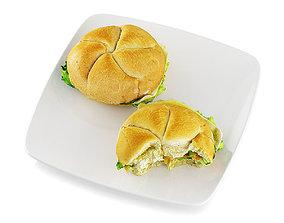 3D model Sandwiches