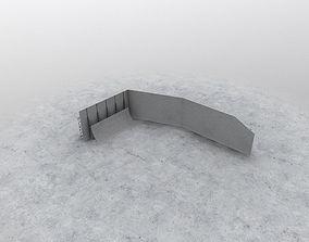 LHBP Blast Wall 3D asset