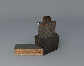 The Puckett fireplace 3D