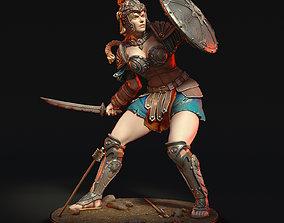 Greek warrior 3D printable model