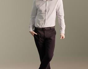 3D asset Kenneth 10164 - Standing Business Man