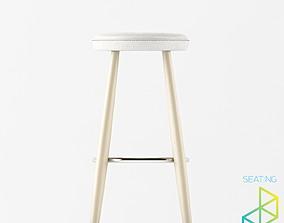 3D model Carl Hansen Son CH56 Bar stool