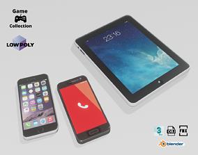 3D model Smartphones and tablet