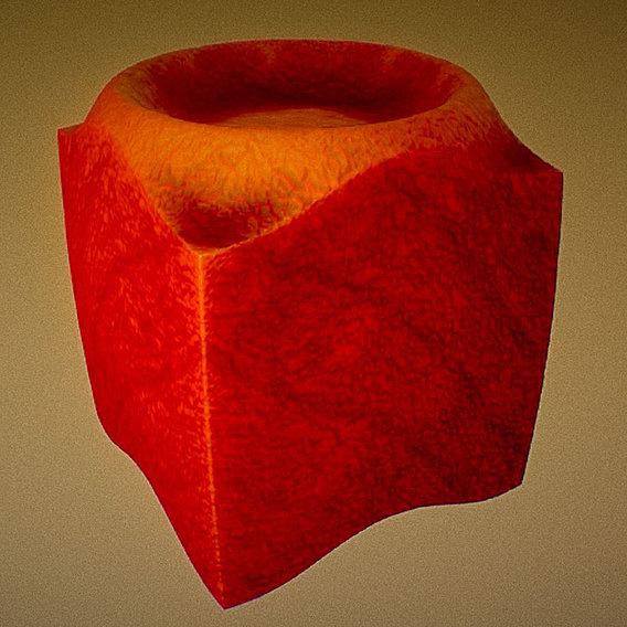 Mutating Cube (Mutation-4) (Blender-2.79b)
