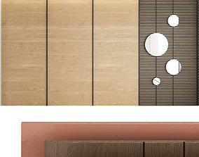 decor 3D model Decorative wall panel set 2