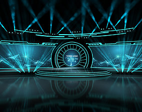 Event stage 02 design 3D modern