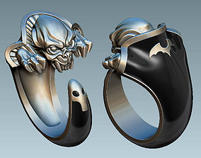 sculpture Vamp Ring 3D printable model