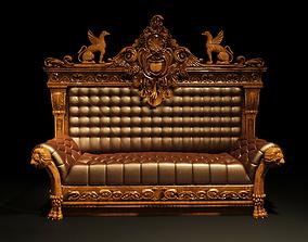 3D model sofa grifoni