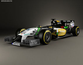 3D model Force India 2014