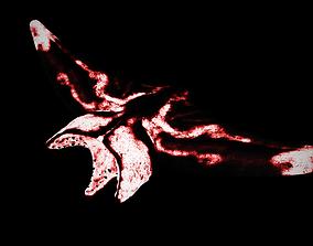 Flesh Eater - Flying Stingray Monster 3D model