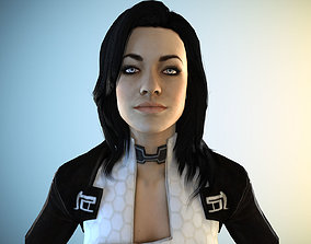 Miranda Lawson 3D model
