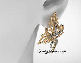 earrings ER 25 3D print model