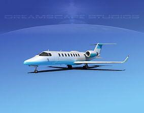 3D model LearJet 45 V06