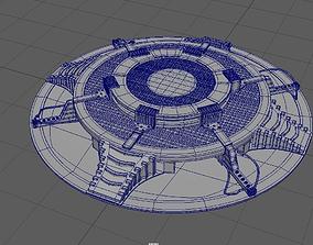 Tony Stark Laboratory 3D model
