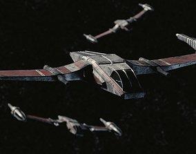 Starfighter 3D asset realtime