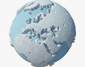 Winter Planet christmas 3D model