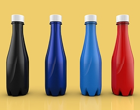 3D BOTTLE 350 ml including technical drawings