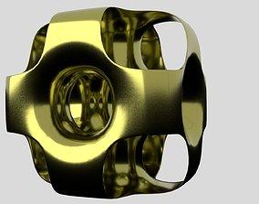 3D print model Ported Cube