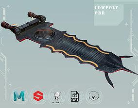 Hoverboard GameReady PBR 3D asset