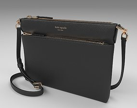 Women Handbag Kate Spade Polly Crossbody 3D Model