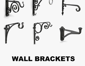 Wall Brackets collection vol 2 3D