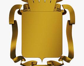 3D model Coat of Arms v 4