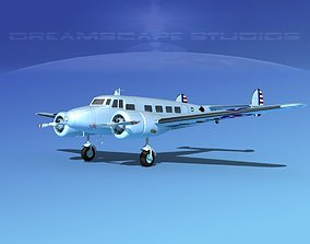 3D Lockheed C-37 US Army Air Corps