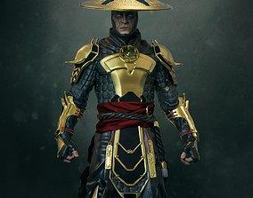 Raiden Mortal Kombat 3D print model videogame