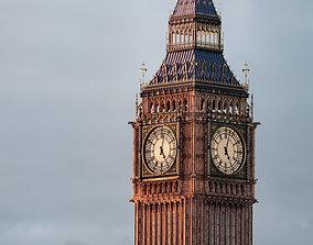 Big Ben tower - Elizabeth tower 3D model