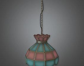 Hanging Restaurant Light - DVB - PBR Game Ready 3D model