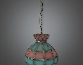 Hanging Light 01 Dive Bar - PBR Game Ready 3D asset
