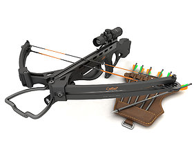 Compound crossbow Outcast 3D model