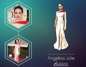 jolie Angelina Jolie 3D Model ready for 3d print