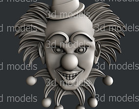 3d STL models for CNC router or 3dprinter clown