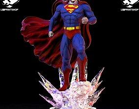 SUPERMAN bane 3D print model