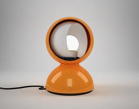 Artemide Eclisse table lamp 3D model