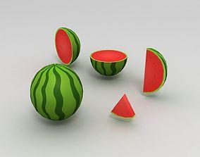 3D model Water Melon