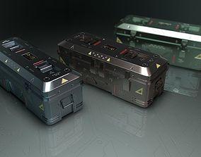 sci-fi box1 3D