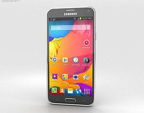 Samsung Galaxy S5 LTE-A Charcoal Black 3D