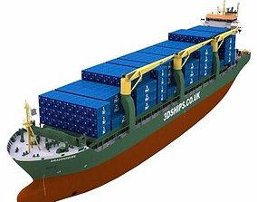 Multi-Purpose Cargo Vessel - 01 - 3D